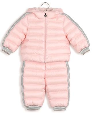 Kanga quilted nylon and Lurex snow suit MONCLER