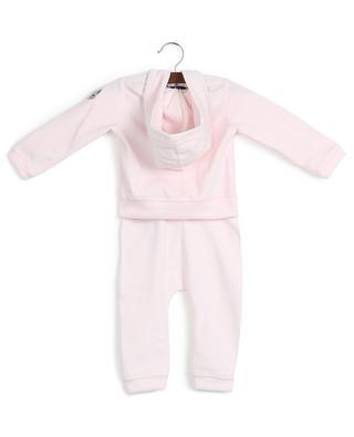 Velvety cotton blend jumper and trouser set MONCLER