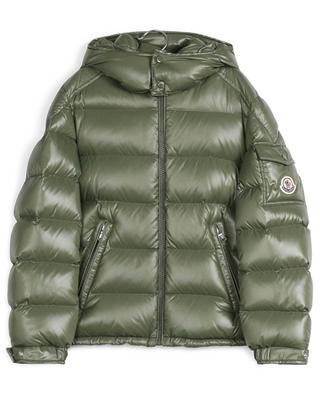 Quilted hooded down jacket MONCLER