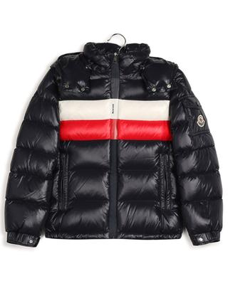 Dell tricolour hooded down jacket MONCLER