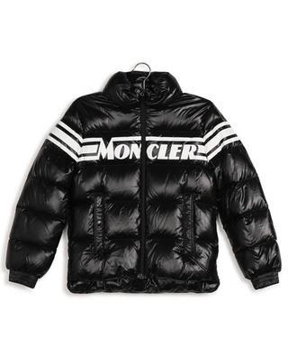 Saise logo printed down jacket with stand-up collar MONCLER