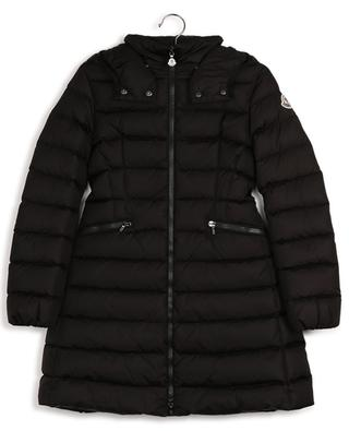 Charpal long cinched down jacket with hood MONCLER