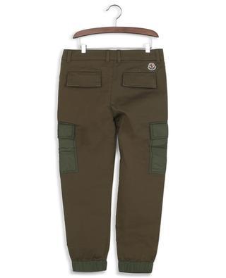 Cotton-blend cargo trousers MONCLER