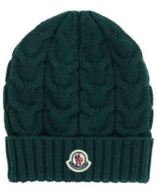 Virgin wool knit beanie MONCLER