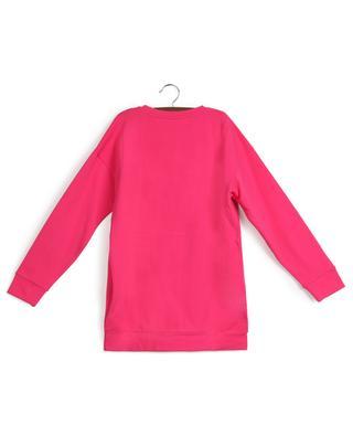 Oversize cotton blend logo sweatshirt MONCLER