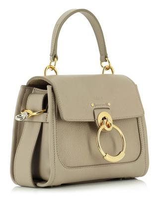 Tess mini grained and smooth leather bag CHLOE