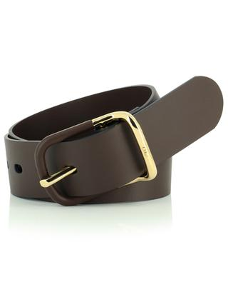 Drew wide leather waist belt CHLOE
