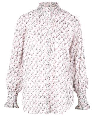 Weites Baumwollhemd Celia Iowa Prairie Shirt Tana Lawn LIBERTY LONDON