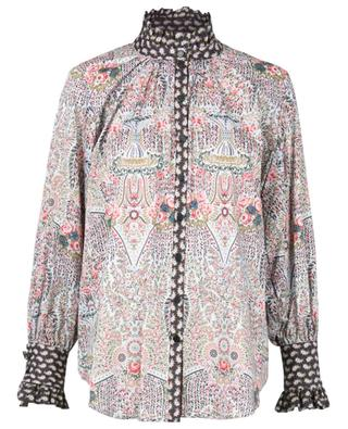 Seraphina Iova Prairie Tana Lawn floral cotton shirt LIBERTY LONDON