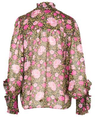 Ophelia Juno Prairie floral chiffon shirt LIBERTY LONDON