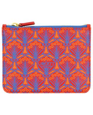 Iphis printed canvas coin pouch with zipper LIBERTY LONDON