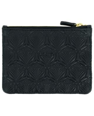 Iphis Embossed leather coin pouch LIBERTY LONDON