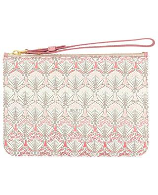 Iphis Cherry Blossom printed coated canvas pouch LIBERTY LONDON