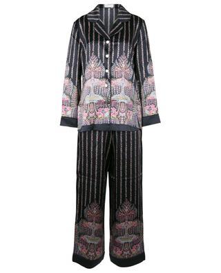 Seraphina Classic printed silk charmeuse pyjama set LIBERTY LONDON