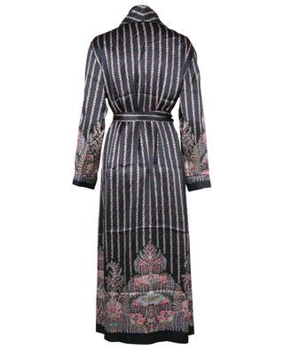 Seraphina Classic printed silk charmeuse robe LIBERTY LONDON