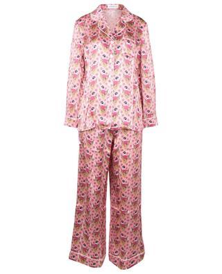 Pyjamaset aus Seidencharmeuse mit Print Sweet Thing LIBERTY LONDON