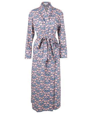 Alicia Tana Lawn floral cotton robe LIBERTY LONDON