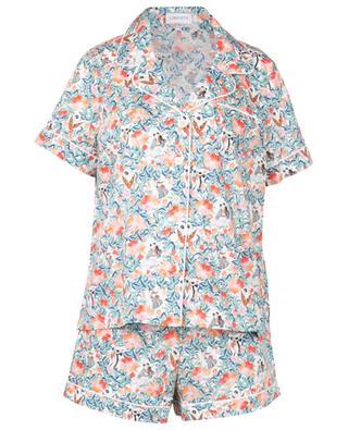 Everyday People Tana floral cotton short pyjama set LIBERTY LONDON