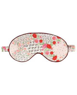 Connie floral silk eye mask LIBERTY LONDON