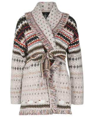 Cardigan jacquard Lost In A Forest ALANUI