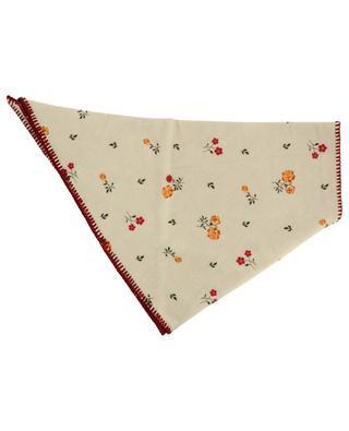 Écharpe triangle réversible en laine vierge imprimée ALANUI