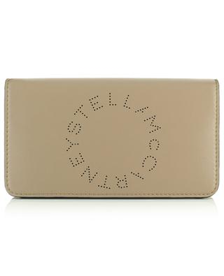 Stella Logo faux leather wallet with shoulder strap STELLA MCCARTNEY