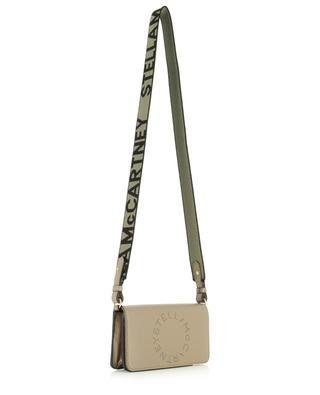 Stella Logo faux leather wallet with shoulder strap STELLA MCCARTNEY