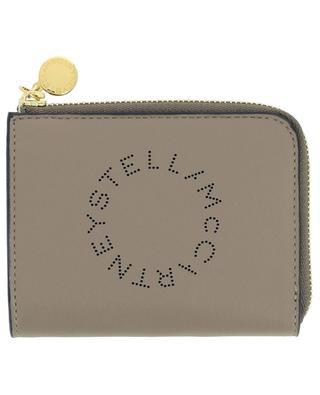 Porte-cartes en cuir nappa écologique Stella Logo STELLA MCCARTNEY