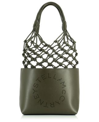Shopper aus Kunstleder Stella Logo Knotted STELLA MCCARTNEY