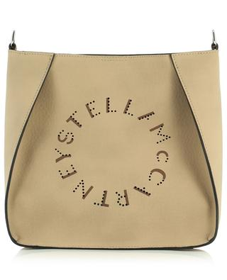 Stella Logo Mini grained faux leather shoulder bag STELLA MCCARTNEY