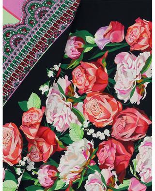 Foulard en soie imprimée Floral Storm LIBERTY LONDON