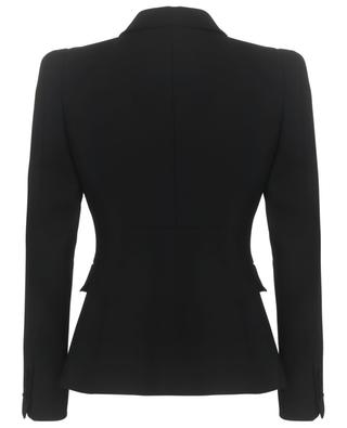 Cinched silk twill blazer VALENTINO