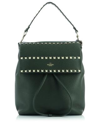 Rockstud grained leather backpack VALENTINO