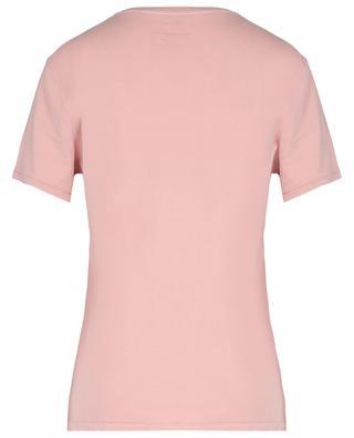 T-shirt à col rond en coton bio Vegiflower AMERICAN VINTAGE