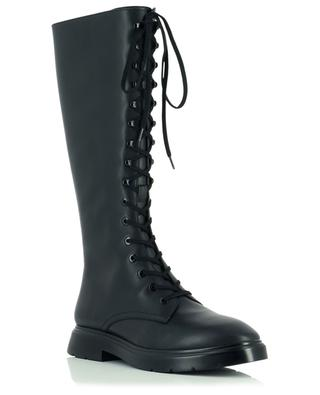 McKenzee Tall lace-up leather boots STUART WEITZMAN