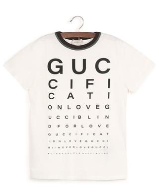 T-shirt imprimé multi-slogans Guccification GUCCI