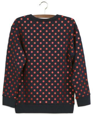 Rundhals-Sweatshirt mit Glitter-Tupfen-Print Gucci Vintage GUCCI