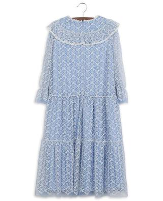 GG Garland embroidered tulle dress GUCCI