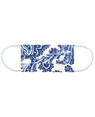 Paisley printed surgical type face mask ROSI COLLECTION