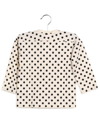 Langarm-T-Shirt mit Tupfenprint Gucci Vintage GUCCI
