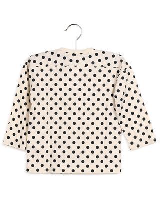 T-shirt à manches longues imprimé pois Gucci Vintage GUCCI