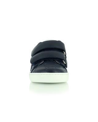 Sneakers aus Leder mit Klettverschluss GUCCI