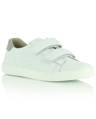 Low-rise nappa leather sneakers GUCCI
