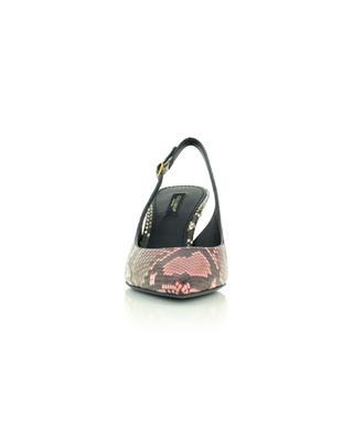 Cardinale 60 python leather sling back pumps DOLCE & GABBANA