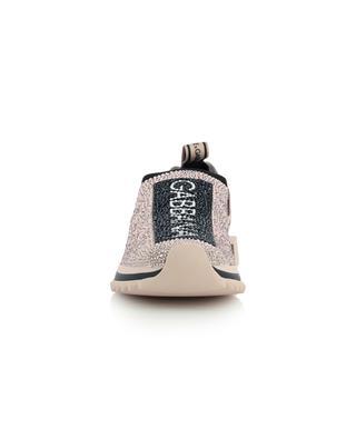 Sorrento crystal clad low-top sock sneakers DOLCE & GABBANA