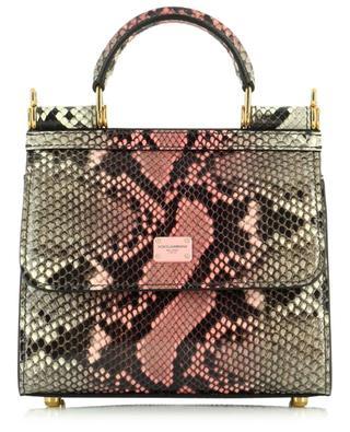 Sicily 58 python leather mini handbag DOLCE & GABBANA