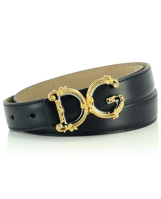 Leather DG logo belt DOLCE & GABBANA