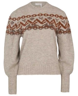 Pullover aus Alpaka- und Wollmix CHLOE