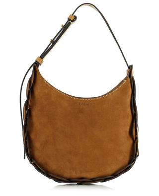 Small Darryl suede and leather hobo bag CHLOE