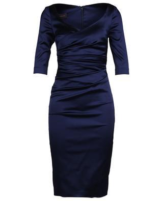 Midi satin dress TALBOT RUNHOF